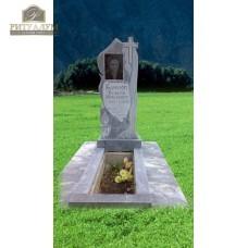 Памятник из мрамора Пламя PM0010 — ritualum.ru